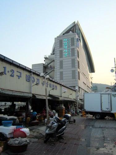 韓国料理研究家・ほんだともみのコリアンワールド-チャガルチ市場