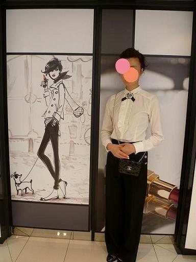 Le journal de kyo-シャネル専属メイクアップアーティストさん