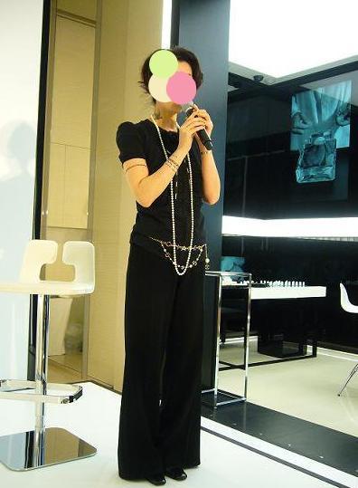 Le journal de kyo-シャネル青山でのKさん