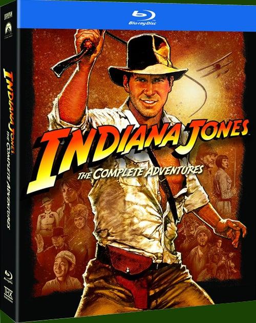 インディ・ジョーンズ Blu-ray