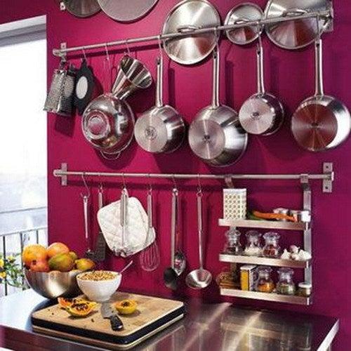 お鍋・フライパンの魅せるキッチン収納