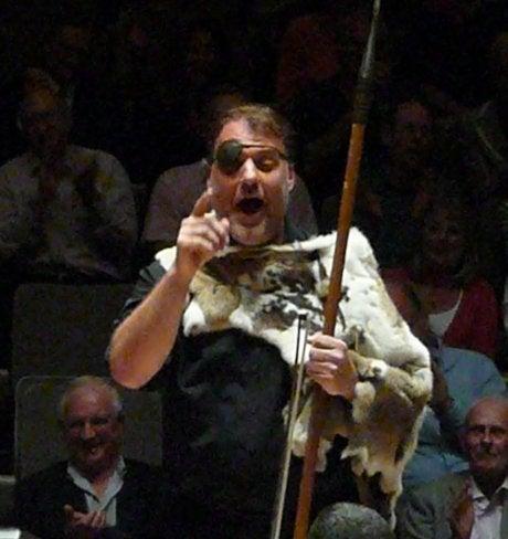 London Opera-loving Kimono-girl (着物でオペラ in ロンドン)