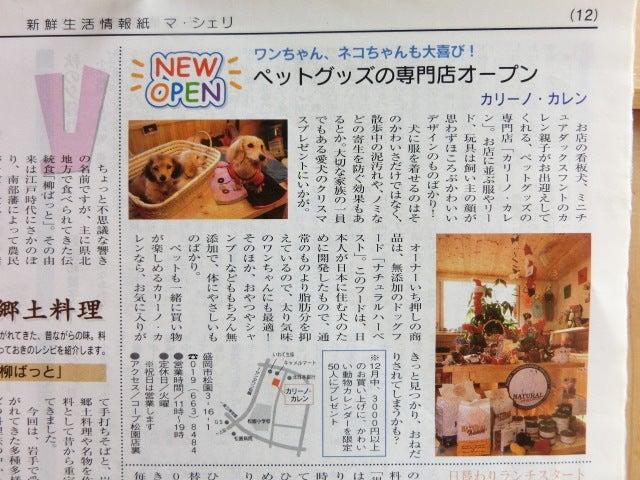 CarinoCaren News+ひとりごと