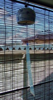 鴻巣の整体院ささき 整体よもやま話-砥部焼の風鈴