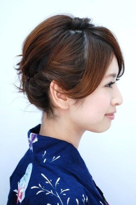 浴衣に似合う♡ショート・ボブでも出来る簡単かわいいヘアアレンジ・髪型