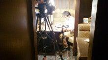 馬レバ刺し取材NHK