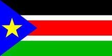 食い旅193ヶ国inTOKYO-南スーダン国旗