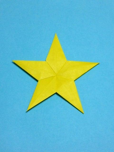すべての折り紙 サンタクロース折り紙折り方簡単 : 星 折り紙|プチアート工房