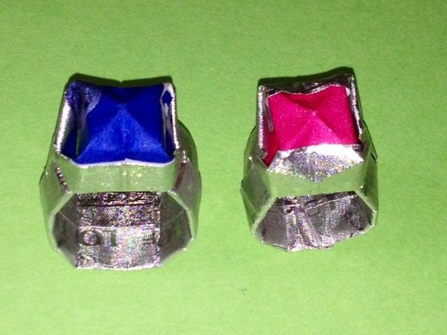 クリスマス 折り紙 : 指輪 折り紙 : ameblo.jp