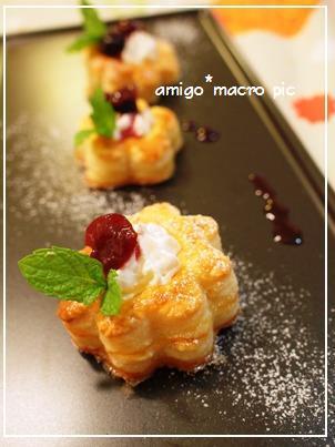 AMIGO*マクロ目線-カップパイ1