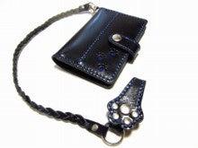 OXIO-CRAFT(オキクラ)の「革雑貨」製作日記-黒ヌメ作品3点