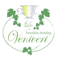 東京 三鷹 ポーセリンペインティング & プリザーブドフラワー                  Le Ventvert ~緑の風~