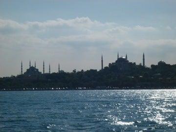 マルマラ海とモスク群