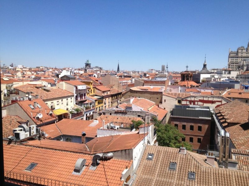 V-squared ロンドン音楽留学日記-In Madrid for a week! a view from my window:))