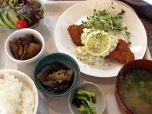 $森の食堂★cafe風琴のブログ-定食