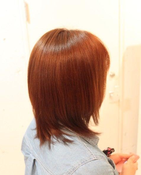 $ヘッドスパとカラーでツヤ髪を作る伊勢原の美容室・美容院セクション