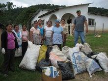 生活改善研究会のブログ-村での清掃活動