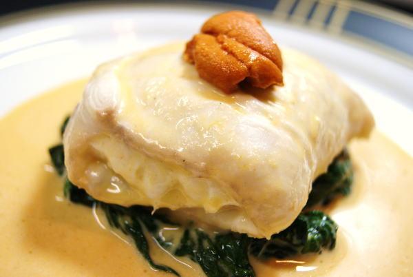 食べて飲んで観て読んだコト+レストラン・カザマ-平目のポピエット