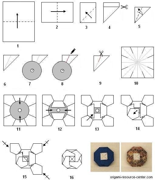ハート 折り紙 折り紙 cdケース : ameblo.jp