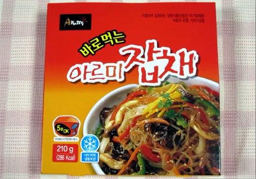 韓国料理研究家・ほんだともみのコリアンワールド-サォンウォン アルミチャプチェ