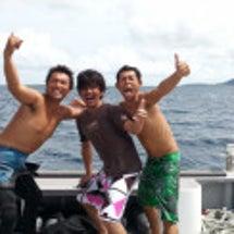 石垣島にダイビング!…