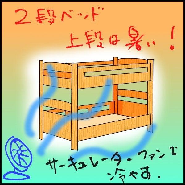 $子供部屋の整理について(2段ベッド・システムベッドデスクなど)-2段ベッド