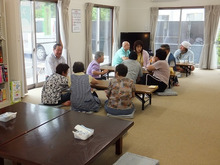 浄土宗災害復興福島事務所のブログ-20120718内郷白水①