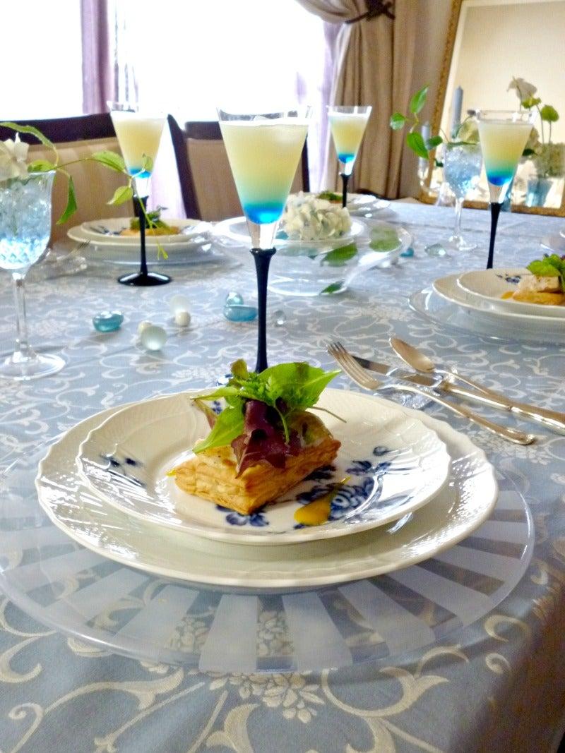 フランス料理教室 Atelier Belle Table ~気軽に楽しくお料理&テーブルコーディネート~-Atelier Belle Table 2012.7