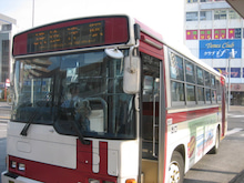 焼津の情報発信基地 カネオト石橋商店-焼津市内巡回バス・ゆりかもめ