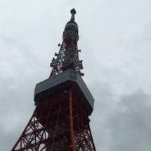 東京タワーの麓