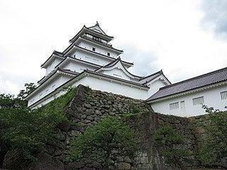 晴れのち曇り時々Ameブロ-会津若松城(鶴ヶ城)