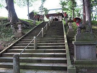 晴れのち曇り時々Ameブロ-鶴ヶ城稲荷