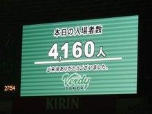 たかまるのちょっと一言-観客4,160人