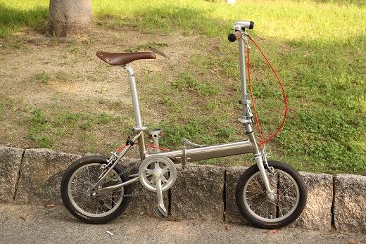 ... 自転車をメンテナンスしました