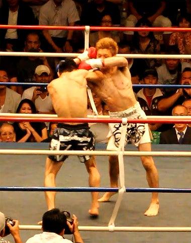新日本キックボクシング協会-江幡睦vs藤原あらし