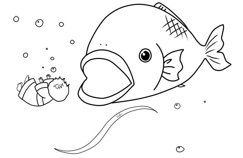 塗り絵 魚 の 塗り絵 魚 ぬ りえ ... : 塗り絵 魚 : すべての講義
