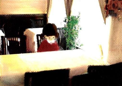 食べて飲んで観て読んだコト+レストラン・カザマ-少女2