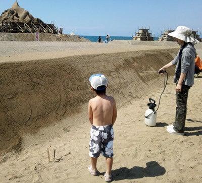 $ときどきグルメになりたくなるブログ-釜谷浜海水浴場(秋田県三種町)9