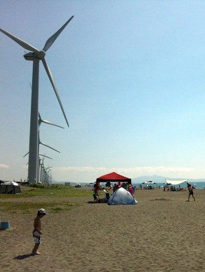 $ときどきグルメになりたくなるブログ-釜谷浜海水浴場(秋田県三種町)7