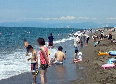$ときどきグルメになりたくなるブログ-釜谷浜海水浴場(秋田県三種町)2