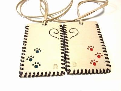 OXIO-CRAFT(オキクラ)の「革雑貨」製作日記-ペアパスケース