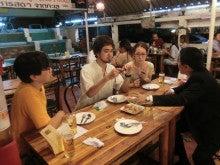 タイ旅行2012タイ料理で歓迎
