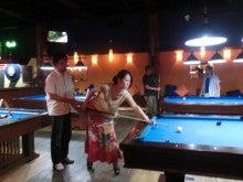 タイ旅行2012恒例のビリヤードで歓迎