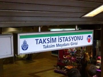 タクシム駅