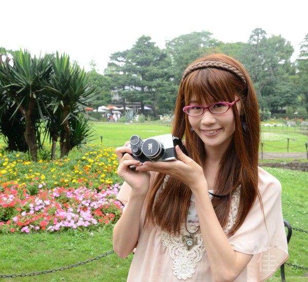 フィルムカメラ女子の片岡ミカさん(ミカチュウ)