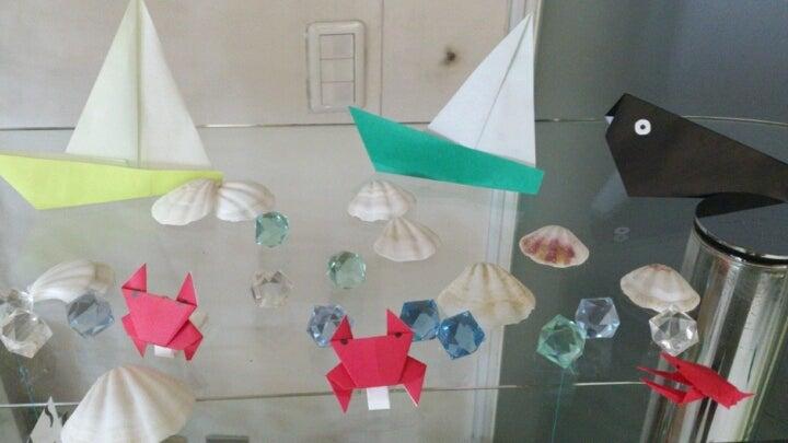 ハート 折り紙 : 海 折り紙 : ameblo.jp