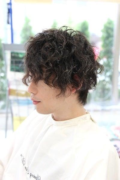 $福井県あわら市の美容室・理容室スプリングヘアーデザイン SHOZOブログ 縮毛矯正 エアウェーブ ダブルカラー-強めのスパイラルパーマ集