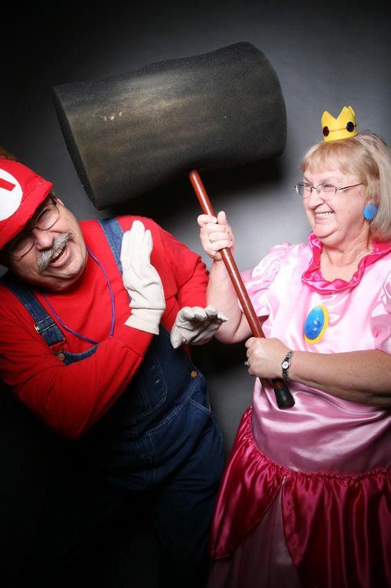 マリオとピーチ姫
