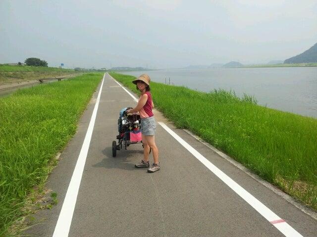 $歩き人ふみの徒歩世界旅行 日本・台湾編-遠賀自転車道