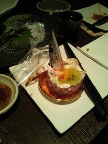 てっちゃんの㊙「がんばれ東北」㊙-サンマケーキ